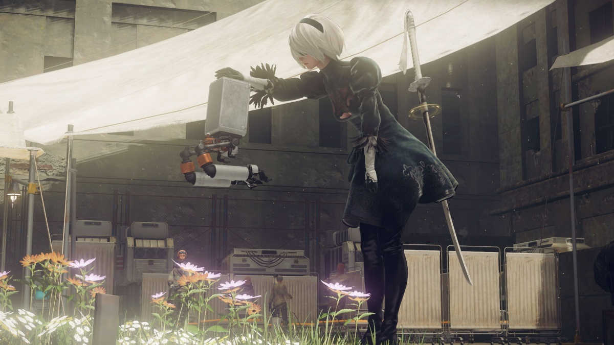 Screenshot for Nier: Automata on PlayStation 4