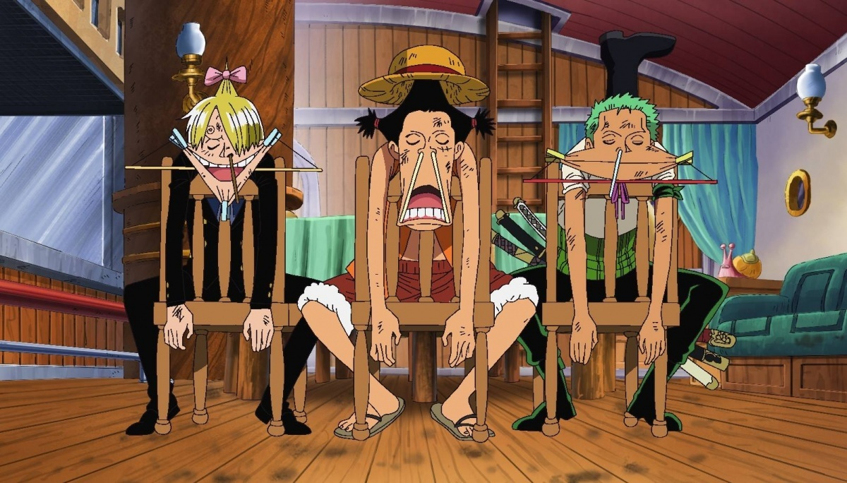 Image for Anime Review: One Piece Collection 15 (Lights, Camera, Action!)