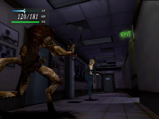 Screenshot for Parasite Eve on PlayStation