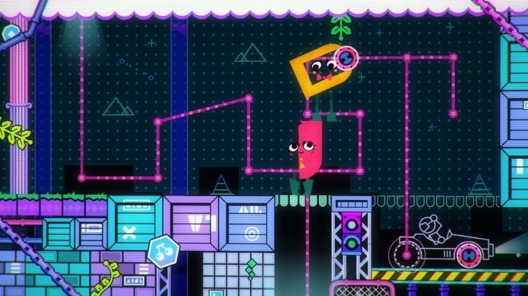 Screenshot for Snipperclips: Cut it Out, Together! on Nintendo Switch