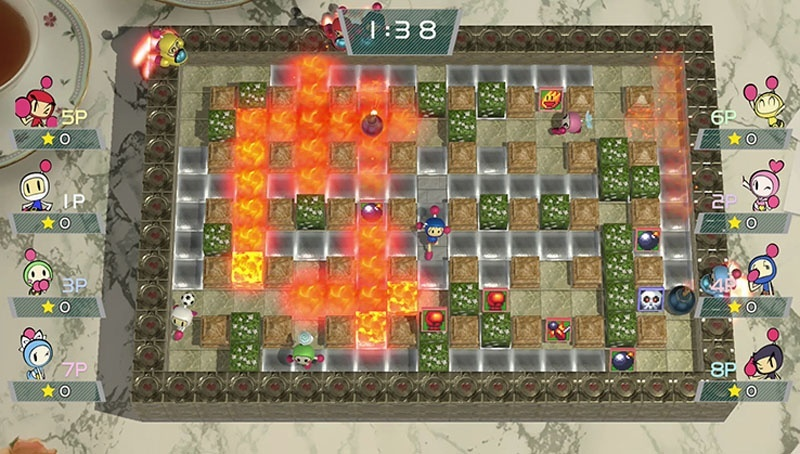 Screenshot for Super Bomberman R on Nintendo Switch