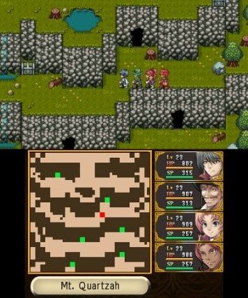 Screenshot for Unlucky Mage on Nintendo 3DS