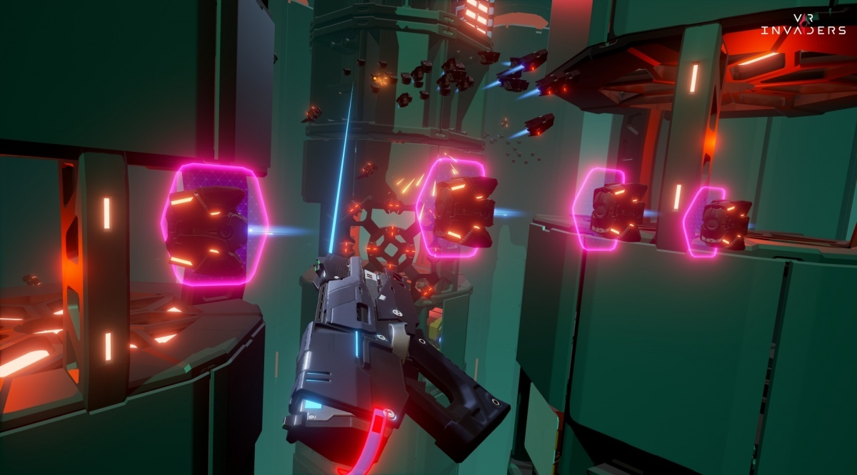 Screenshot for VR Invaders on PC