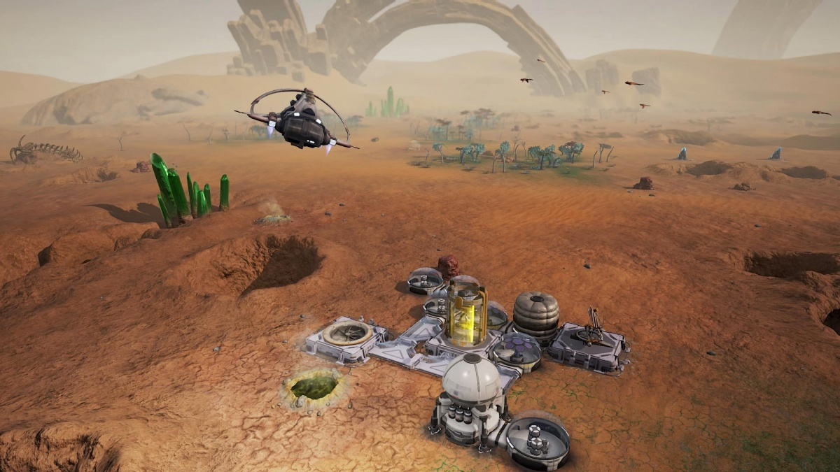 Screenshot for Aven Colony on PlayStation 4
