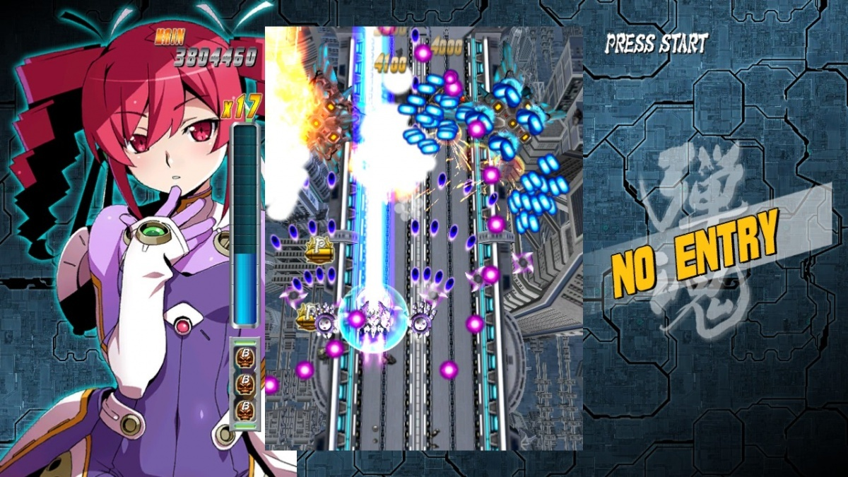 Screenshot for Bullet Soul: Infinite Burst on PC