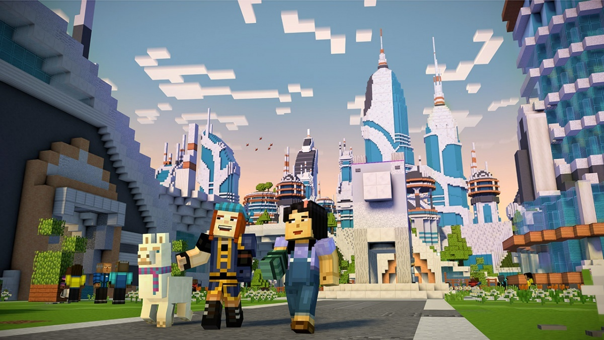 Screenshot for Minecraft: Story Mode - Season Two: The Telltale Series on Xbox One