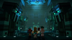 Screenshot for Minecraft: Story Mode Season Two - Episode 1: Hero in Residence - click to enlarge