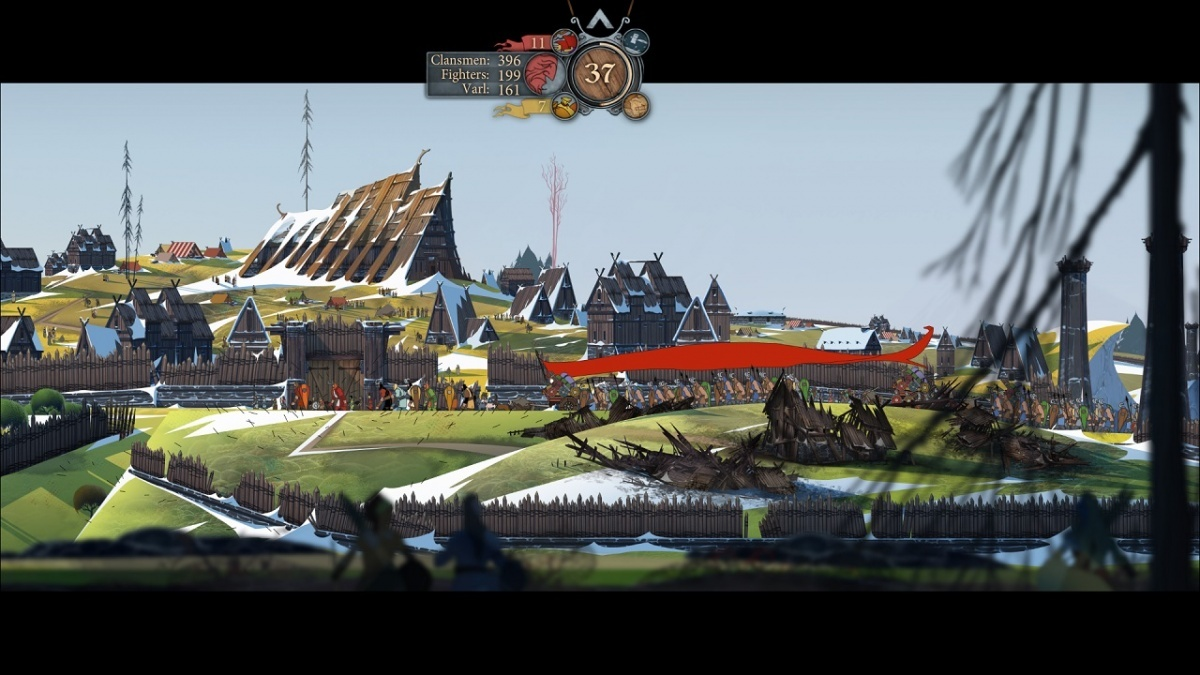 Screenshot for The Banner Saga 2 on Xbox One