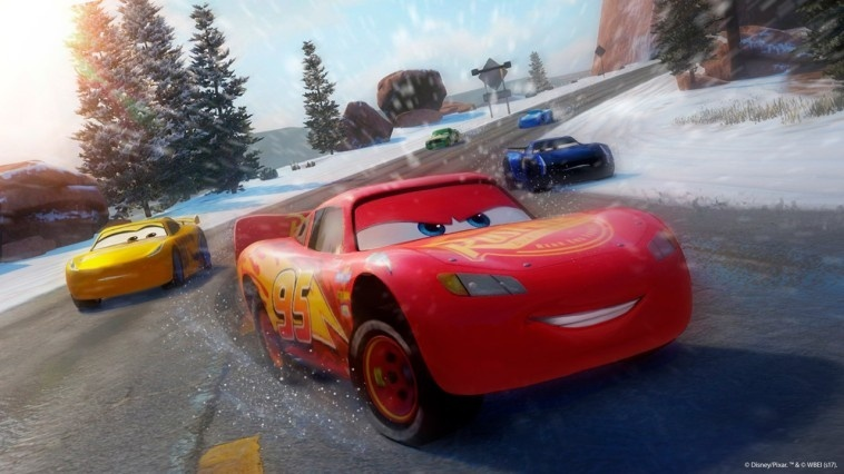 Screenshot for Cars 3: Driven to Win on Nintendo Switch