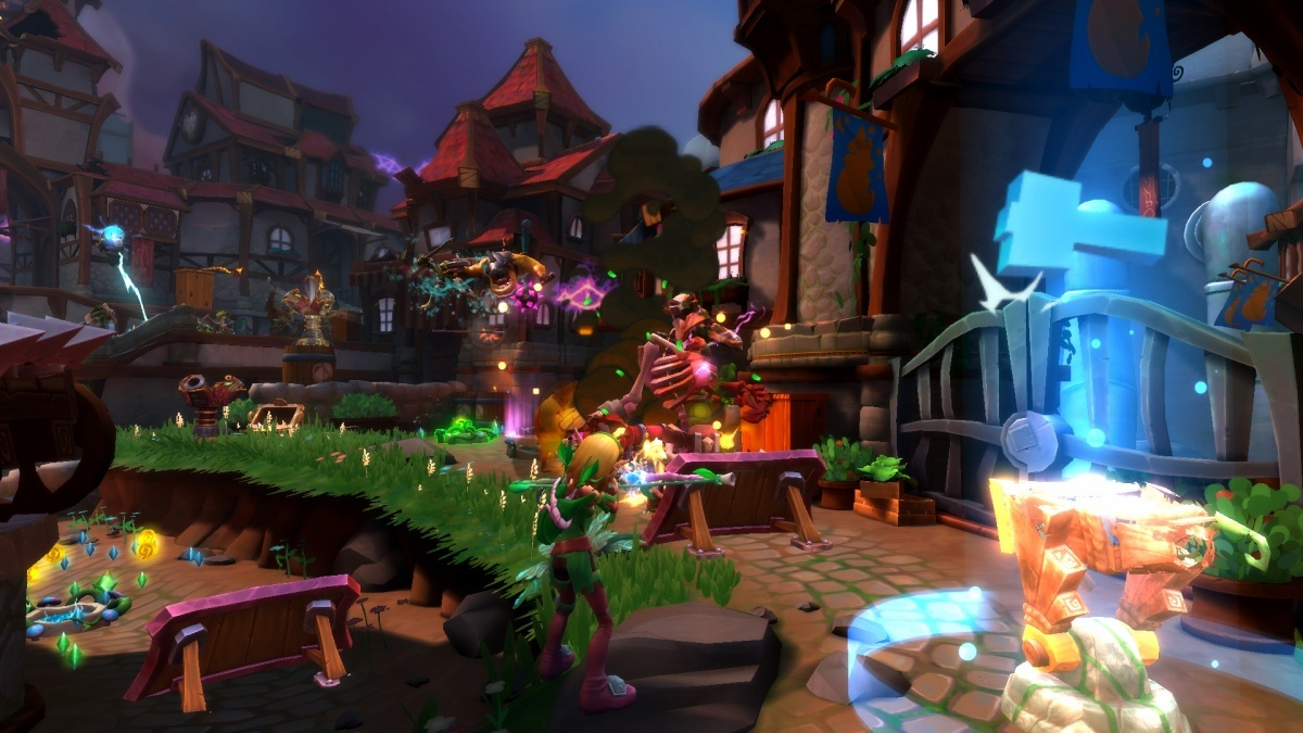 Dungeon defenders ii pc screens and art gallery cubed3 - Dungeon defenders 2 console ...