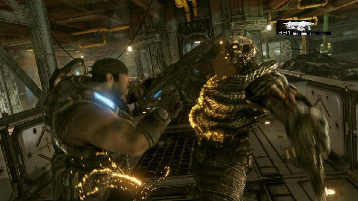 Screenshot for Gears of War 3 on Xbox 360