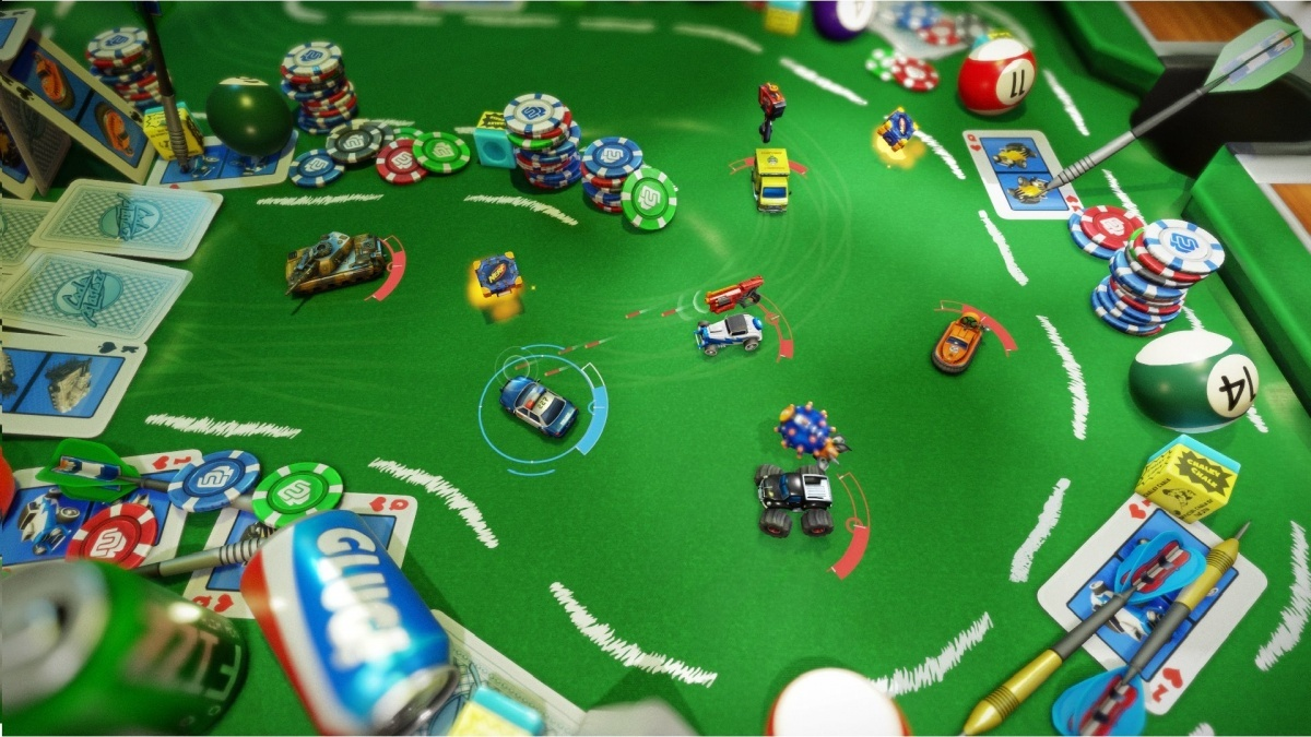 Screenshot for Micro Machines World Series on PlayStation 4