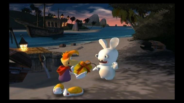 Screenshot for Rayman Raving Rabbids on Wii