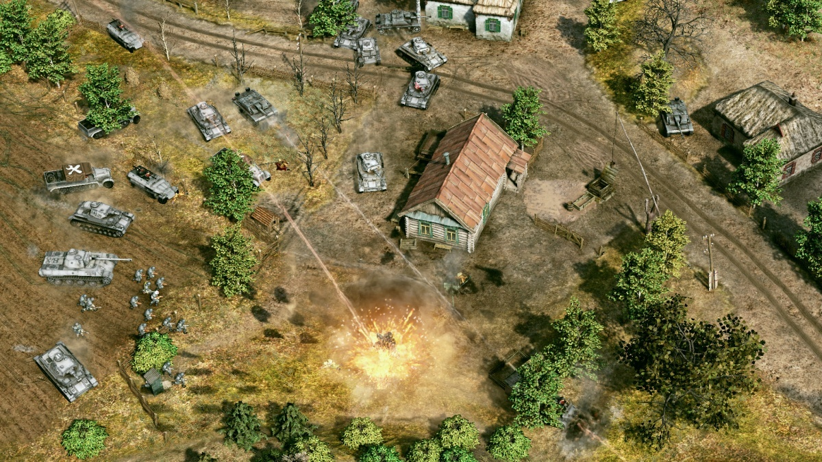 Screenshot for Sudden Strike 4 on PC