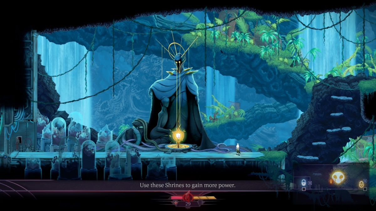 Screenshot for Sundered on PlayStation 4