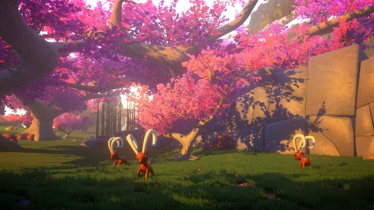Screenshot for Yonder: The Cloud Catcher Chronicles on PlayStation 4