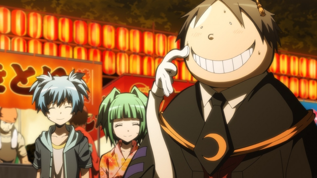 Image for Anime Review: Assassination Classroom Season 2: Part 1 (Lights, Camera, Action!)