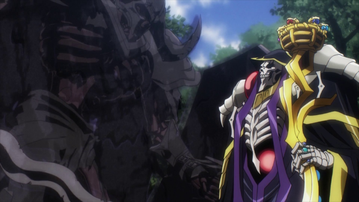 Image For Anime Review Overlord Lights Camera Action