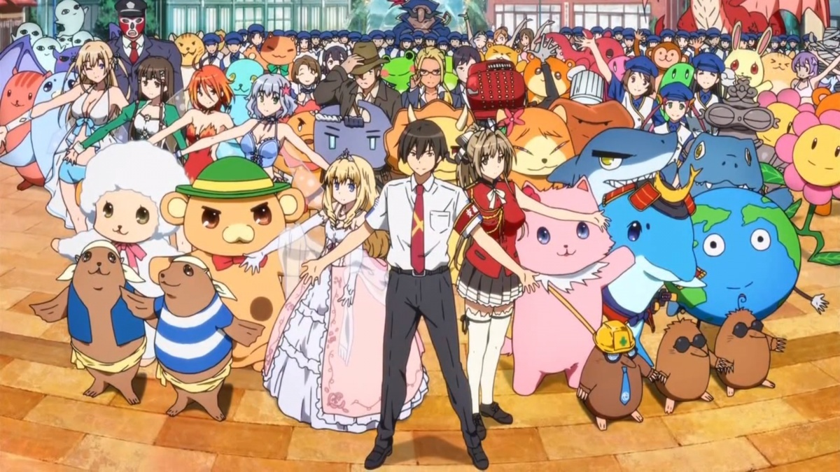 Image for Anime Review: Amagi Brilliant Park (Lights, Camera, Action!)