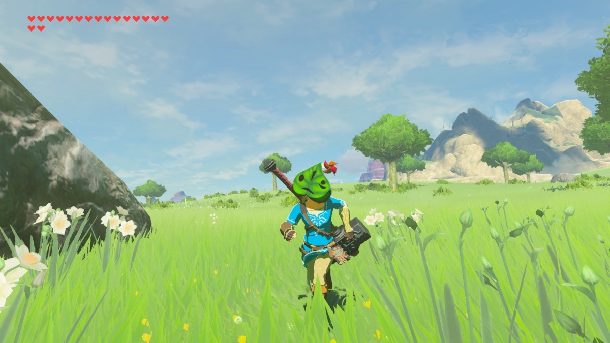Screenshot for The Legend of Zelda: Breath of the Wild - The Master Trials on Nintendo Switch