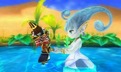 Screenshot for Ever Oasis on Nintendo 3DS