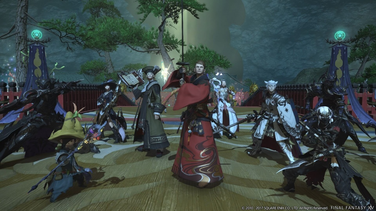 Screenshot for Final Fantasy XIV Online: Stormblood on PlayStation 4