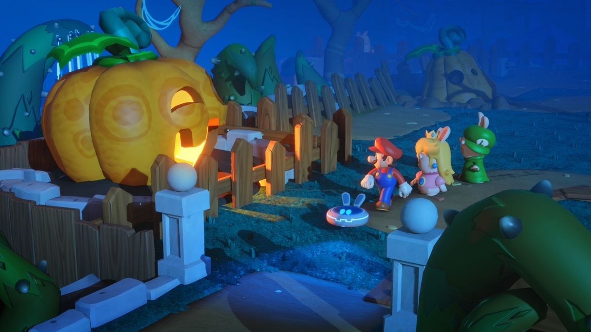 Screenshot for Mario + Rabbids Kingdom Battle on Nintendo Switch
