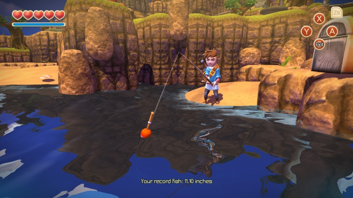 Screenshot for Oceanhorn: Monster of Uncharted Seas on Nintendo Switch
