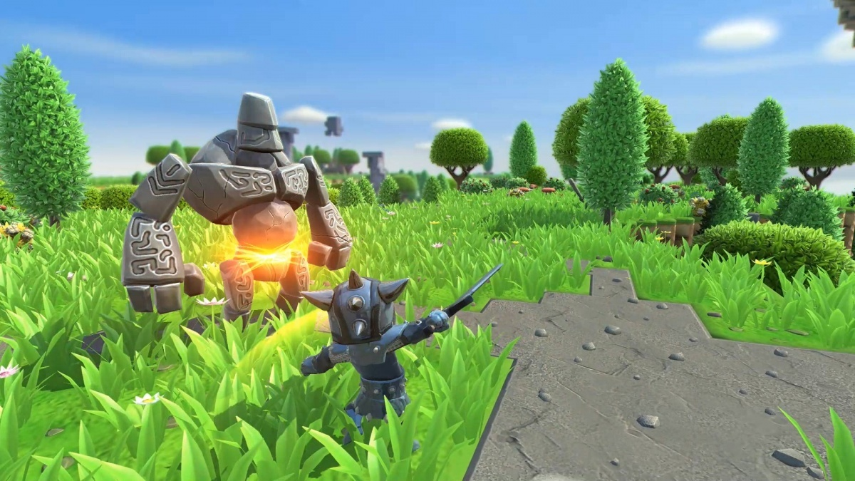 Screenshot for Portal Knights on Nintendo Switch