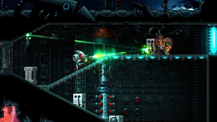 Screenshot for SteamWorld Heist on Wii U