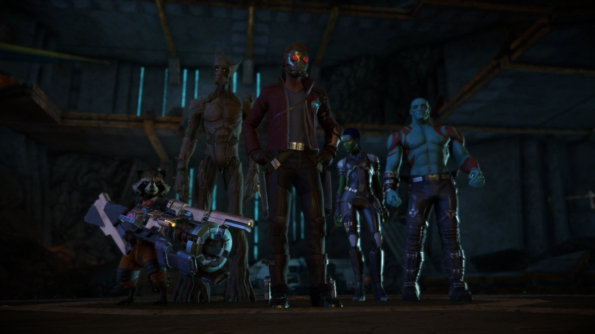 Screenshot for Marvel's Guardians of the Galaxy: The Telltale Series - Episode One: Tangled Up in Blue on PC