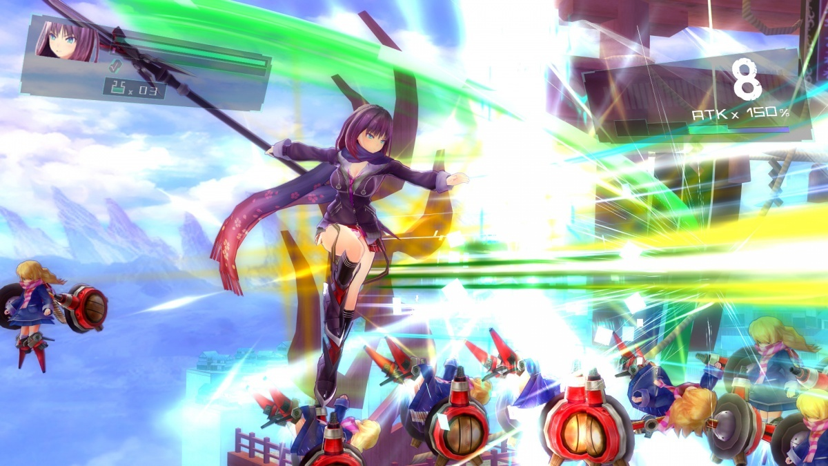 Screenshot for Valkyrie Drive: Bhikkhuni on PC