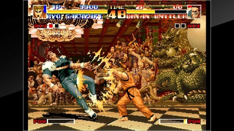 Screenshot for ACA NeoGeo: The King of Fighters '94 on Nintendo Switch