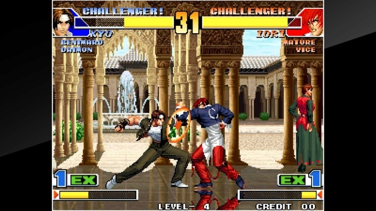 Screenshot for ACA NeoGeo: The King of Fighters '98 on Nintendo Switch