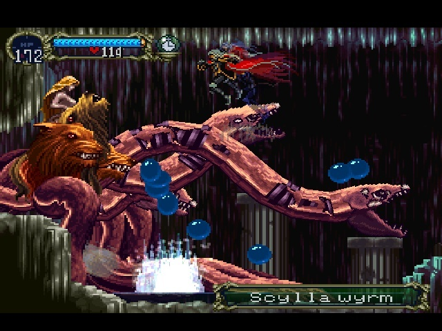 Screenshot for Castlevania: Symphony of the Night on PlayStation
