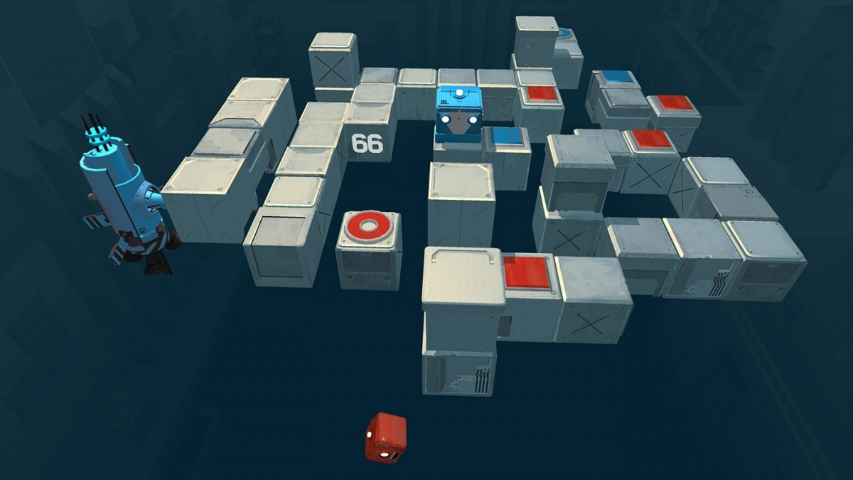 Screenshot for Death Squared on Nintendo Switch