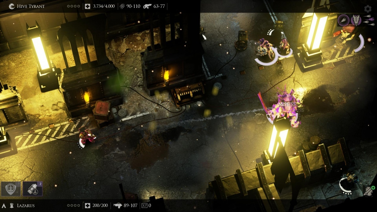 Screenshot for Warhammer 40,000: Deathwatch on PlayStation 4