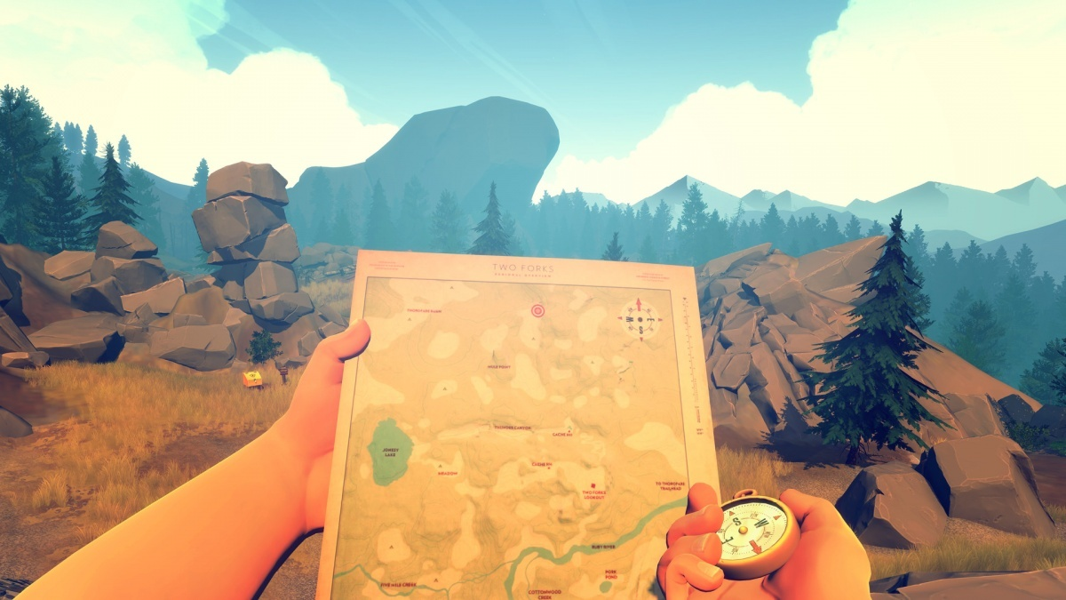 Screenshot for Firewatch on PC