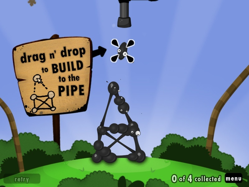 Screenshot for World of Goo on PC