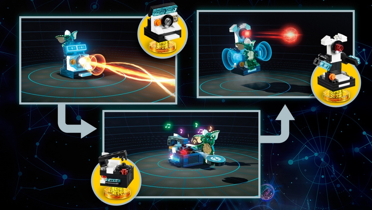 Screenshot for LEGO Dimensions: Gremlins Team Pack on Wii U