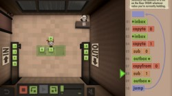 Screenshot for Human Resource Machine - click to enlarge