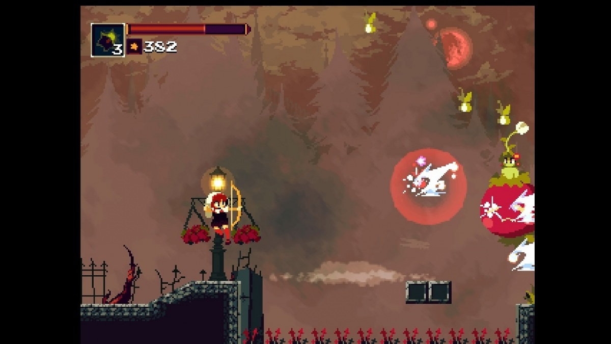 Screenshot for Momodora: Reverie Under the Moonlight on PlayStation 4