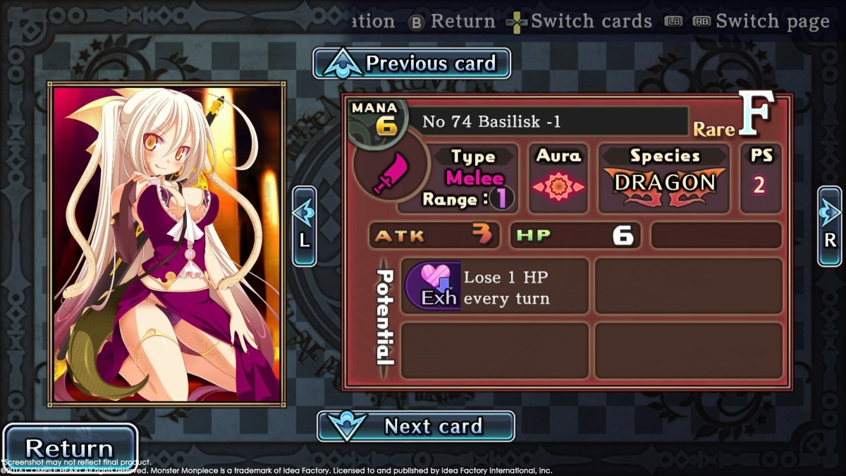 Screenshot for Monster Monpiece on PC