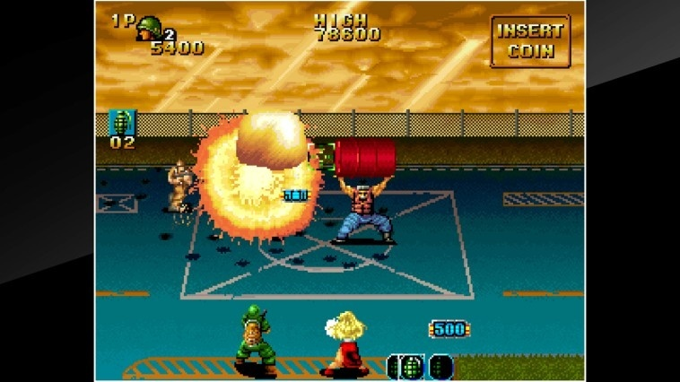 Screenshot for ACA NeoGeo: NAM-1975 on Nintendo Switch