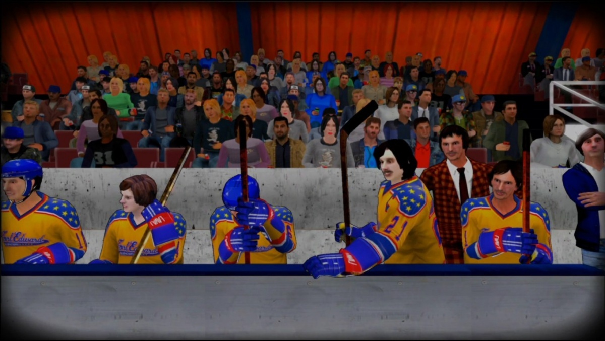 Screenshot for Old Time Hockey on PlayStation 4