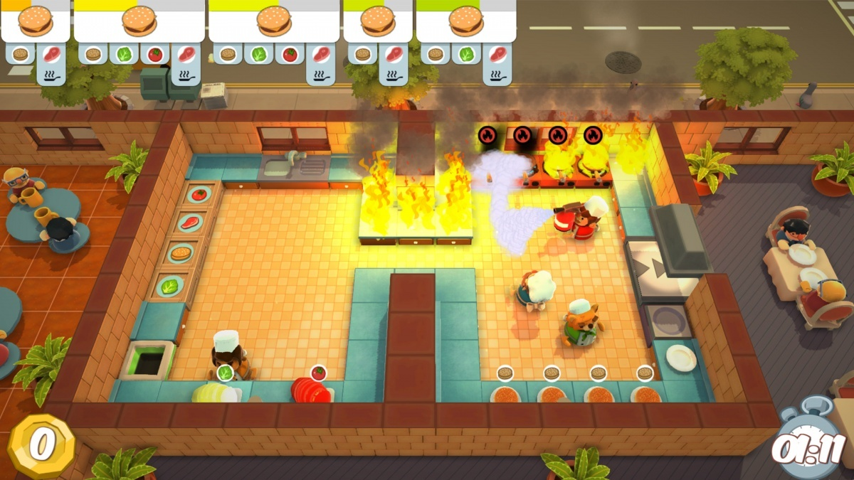 Screenshot for Overcooked on PC