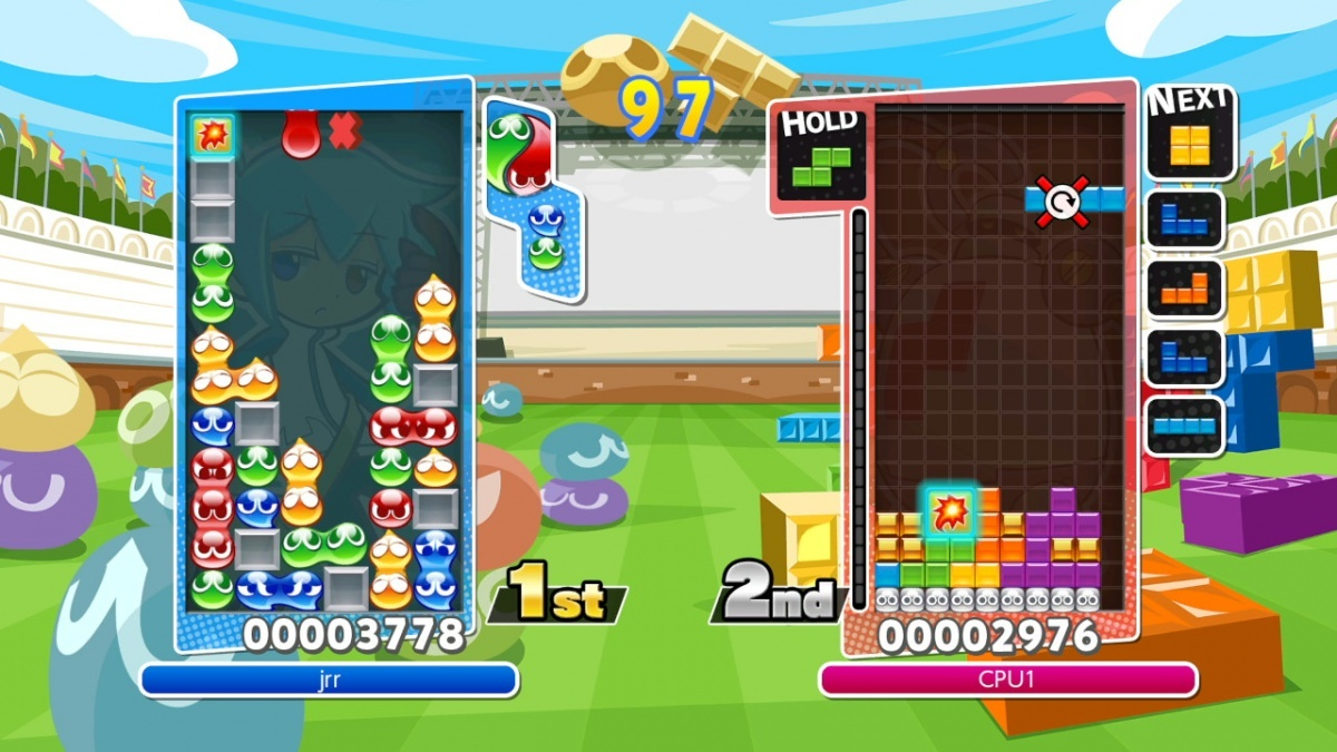 Screenshot for Puyo Puyo Tetris on Nintendo Switch
