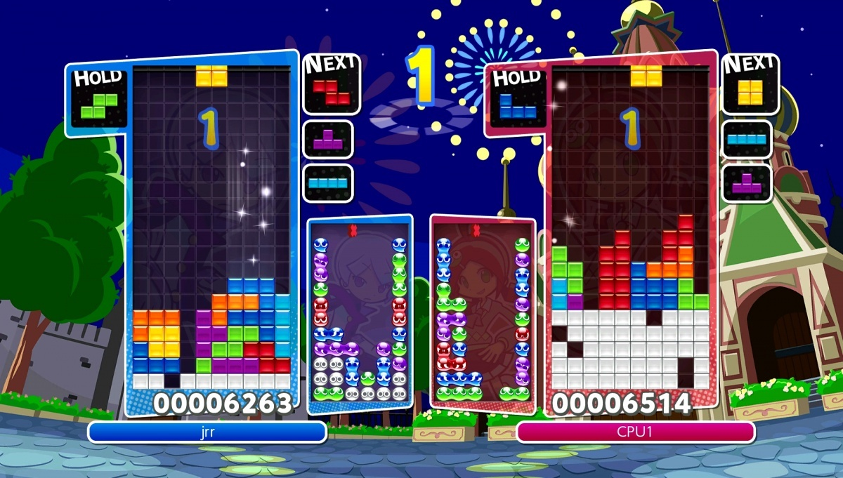 Screenshot for Puyo Puyo Tetris on PlayStation 4