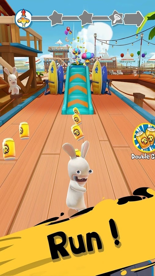 Screenshot for Rabbids Crazy Rush on iOS