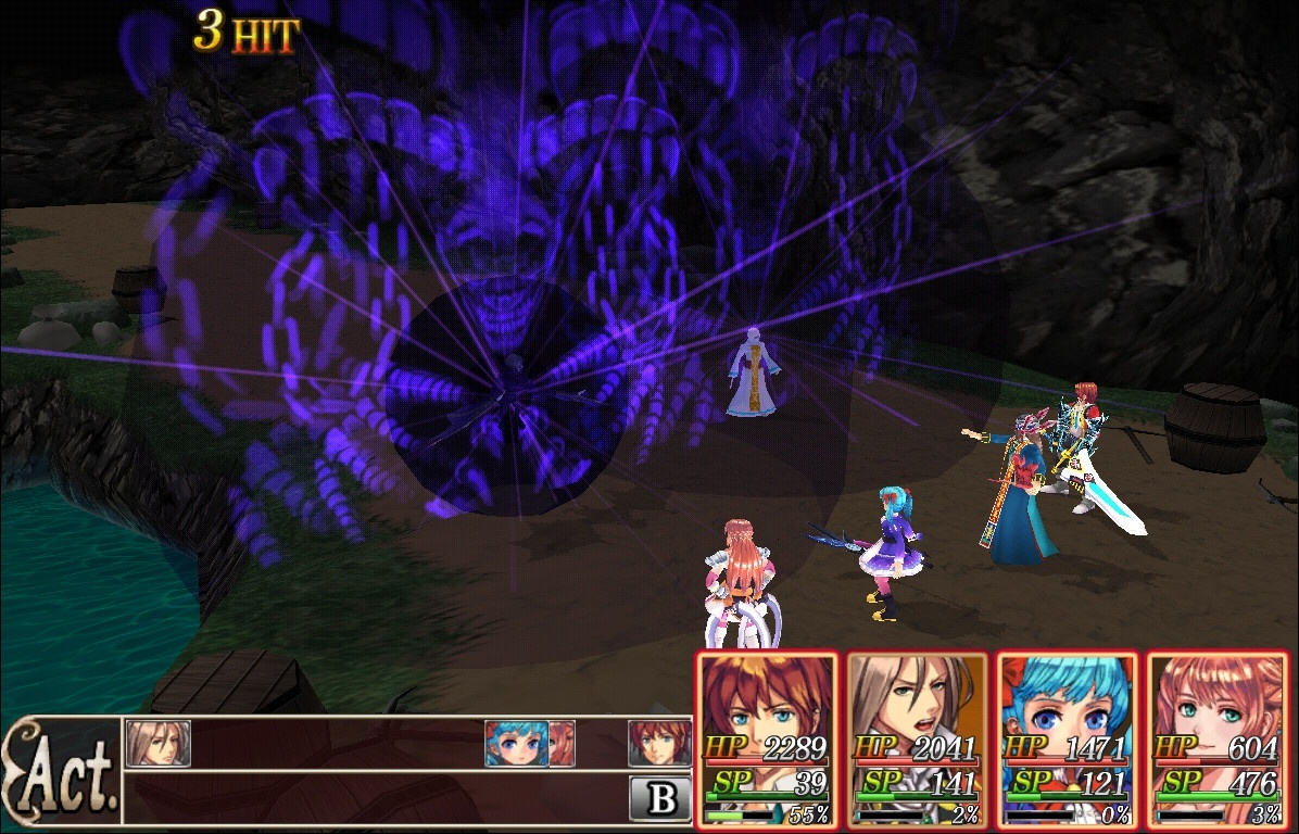 Revenant Saga Pc Screens And Art Gallery Cubed3